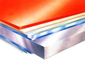 Plastovaná ocel, ocelové haly